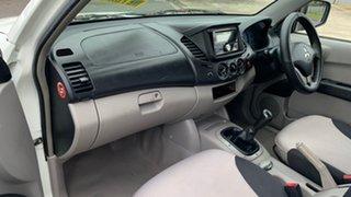 2008 Mitsubishi Triton ML MY08 GLX White 5 Speed Manual Double Cab Utility