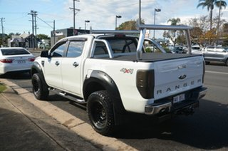 2013 Ford Ranger PX XLT 3.2 (4x4) White 6 Speed Manual Double Cab Pick Up