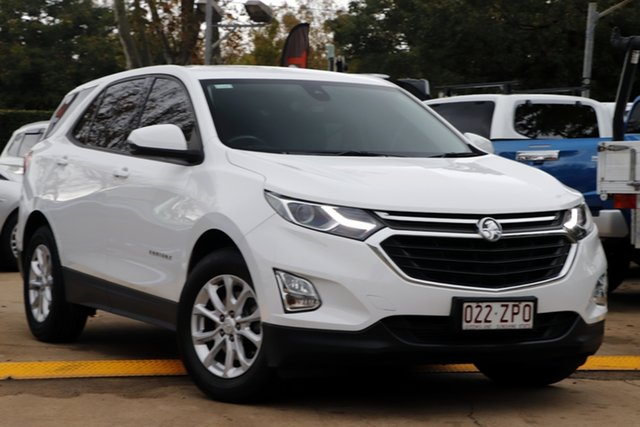 Used Holden Equinox EQ MY18 LS+ FWD Toowoomba, 2018 Holden Equinox EQ MY18 LS+ FWD White 6 Speed Sports Automatic Wagon