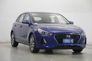 2019 Hyundai i30 PD2 MY19 Active Intense Blue 6 Speed Sports Automatic Hatchback.