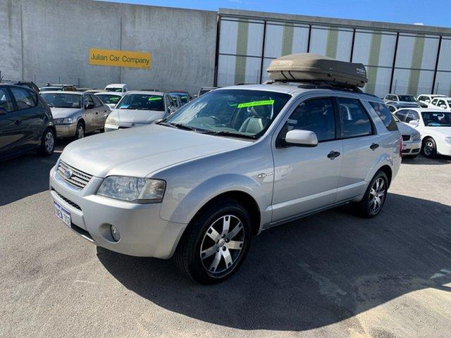 Used Ford Territory SY MY07 Upgrade Ghia (RWD) Wangara, 2008 Ford Territory SY MY07 Upgrade Ghia (RWD) Silver 4 Speed Auto Seq Sportshift Wagon