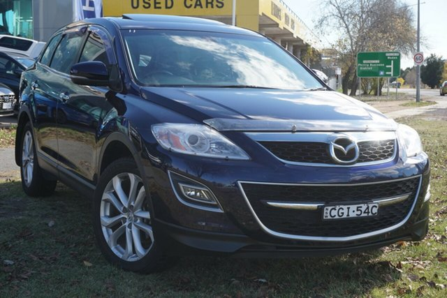 Used Mazda CX-9 TB10A4 MY11 Luxury Phillip, 2011 Mazda CX-9 TB10A4 MY11 Luxury Blue 6 Speed Sports Automatic Wagon