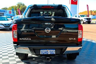 2017 Nissan Navara D23 S2 ST-X Black/Grey 7 Speed Sports Automatic Utility