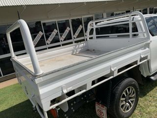 2019 Toyota Hilux GUN126R MY19 SR (4x4) White 6 Speed Automatic X Cab Cab Chassis