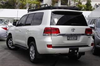 2016 Toyota Landcruiser VDJ200R VX White 6 Speed Sports Automatic Wagon