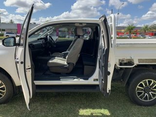 2019 Toyota Hilux GUN126R MY19 SR (4x4) White 6 Speed Automatic X Cab Cab Chassis.