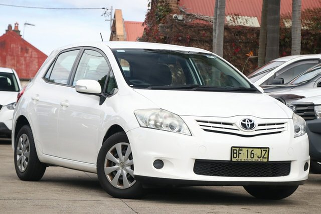 Pre-Owned Toyota Corolla ZRE152R MY10 Ascent Mosman, 2010 Toyota Corolla ZRE152R MY10 Ascent Glacier White 4 Speed Automatic Hatchback