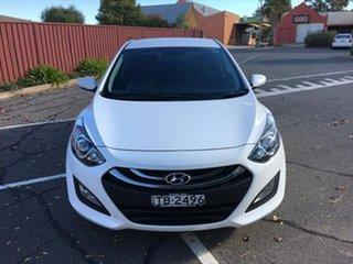 2012 Hyundai i30 GD Elite White 6 Speed Sports Automatic Hatchback.