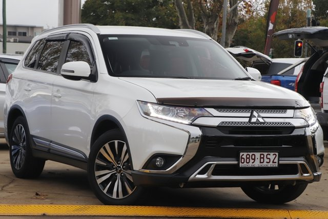 Used Mitsubishi Outlander ZL MY18.5 ES 2WD Toowoomba, 2018 Mitsubishi Outlander ZL MY18.5 ES 2WD White 6 Speed Constant Variable Wagon