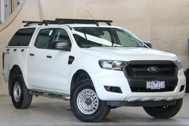 Used Ford Ranger PX MkII XL 2.2 Hi-Rider (4x2) Altona North, 2016 Ford Ranger PX MkII XL 2.2 Hi-Rider (4x2) Cool White 6 Speed Automatic Crew Cab Pickup