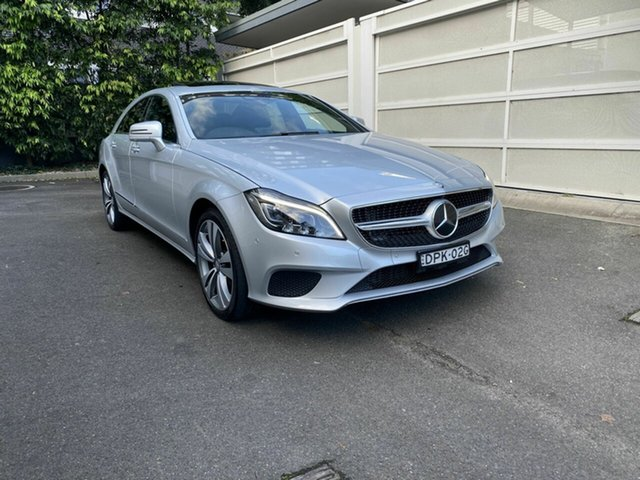 Used Mercedes-Benz CLS-Class C218 807MY CLS250 d Coupe 7G-Tronic + Zetland, 2016 Mercedes-Benz CLS-Class C218 807MY CLS250 d Coupe 7G-Tronic + Silver 7 Speed Sports Automatic