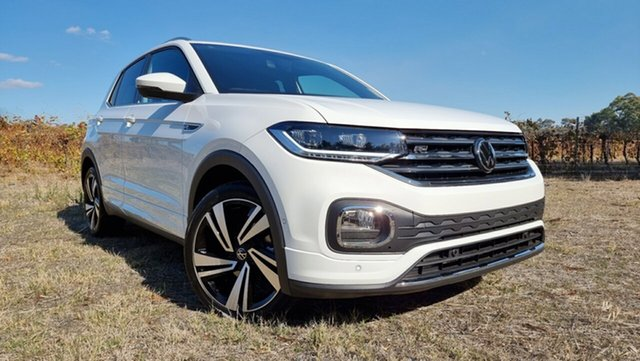 New Volkswagen T-Cross C1 MY21 85TSI DSG FWD Style Tanunda, 2021 Volkswagen T-Cross C1 MY21 85TSI DSG FWD Style Pure White 7 Speed Sports Automatic Dual Clutch