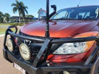 2012 Mazda BT-50 UP0YF1 XT Red 6 Speed Manual Utility