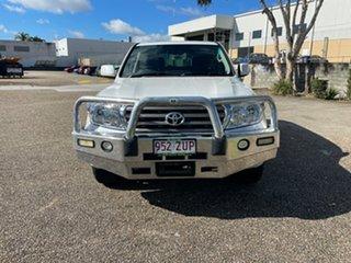 2008 Toyota Landcruiser UZJ200R Sahara (4x4) White 5 Speed Automatic Wagon