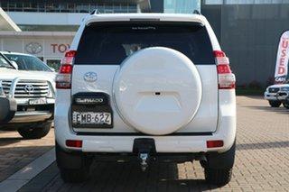 2016 Toyota Landcruiser Prado GDJ150R GXL White 6 Speed Sports Automatic SUV