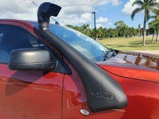 2012 Mazda BT-50 UP0YF1 XT Red 6 Speed Manual Utility