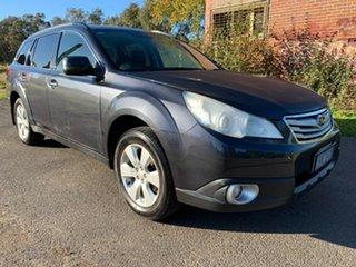 2011 Subaru Outback 4GEN 2.5I Premium Grey Constant Variable Wagon.