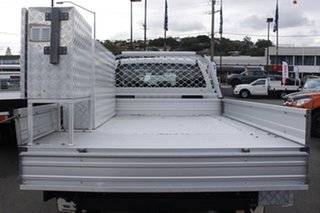 2016 Mazda BT-50 UR0YF1 XT White 6 Speed Manual Cab Chassis