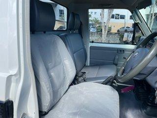 2013 Toyota Landcruiser VDJ79R MY12 Update GX (4x4) White 5 Speed Manual Cab Chassis
