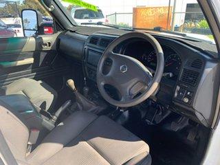 2007 Nissan Patrol GU IV MY07 DX (4x4) White 5 Speed Manual Wagon