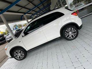 2017 Mitsubishi ASX LS White Constant Variable Wagon