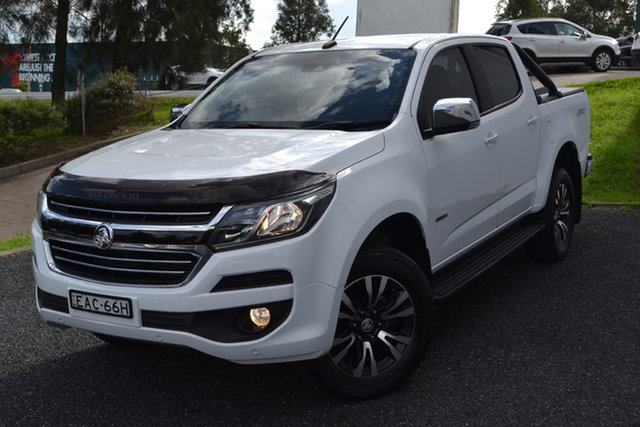 Used Holden Colorado RG MY19 LTZ Pickup Crew Cab Maitland, 2019 Holden Colorado RG MY19 LTZ Pickup Crew Cab White 6 Speed Sports Automatic Utility