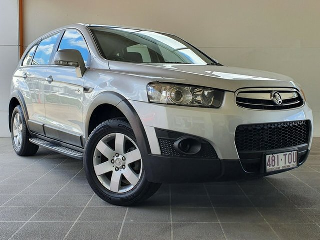 Used Holden Captiva CG MY13 7 SX Brendale, 2013 Holden Captiva CG MY13 7 SX Silver 6 Speed Sports Automatic Wagon