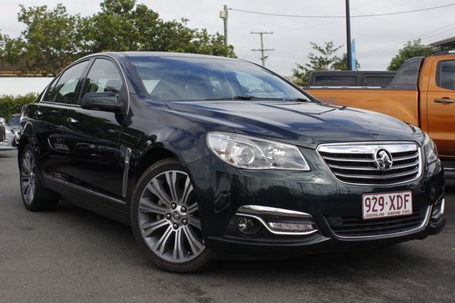 Used Holden Calais VF MY14 V Mount Gravatt, 2013 Holden Calais VF MY14 V Green 6 Speed Sports Automatic Sedan
