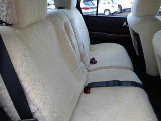 2012 Nissan Patrol GU 7 MY10 TI Silver 4 Speed Sports Automatic Wagon
