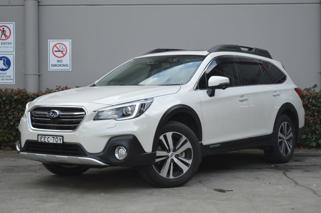 Used Subaru Outback B6A MY19 2.5i CVT AWD Premium Maitland, 2019 Subaru Outback B6A MY19 2.5i CVT AWD Premium White 7 Speed Constant Variable Wagon