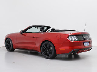 2016 Ford Mustang FM 2.3 GTDi Red 6 Speed Automatic Convertible