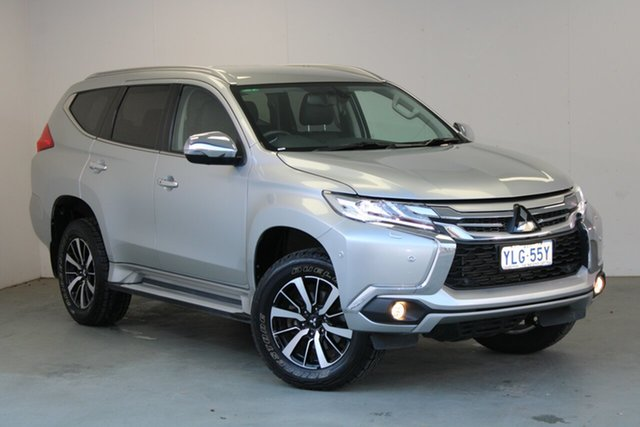 Used Mitsubishi Pajero Sport QE MY16 Exceed Phillip, 2016 Mitsubishi Pajero Sport QE MY16 Exceed Sterling Silver 8 Speed Sports Automatic Wagon