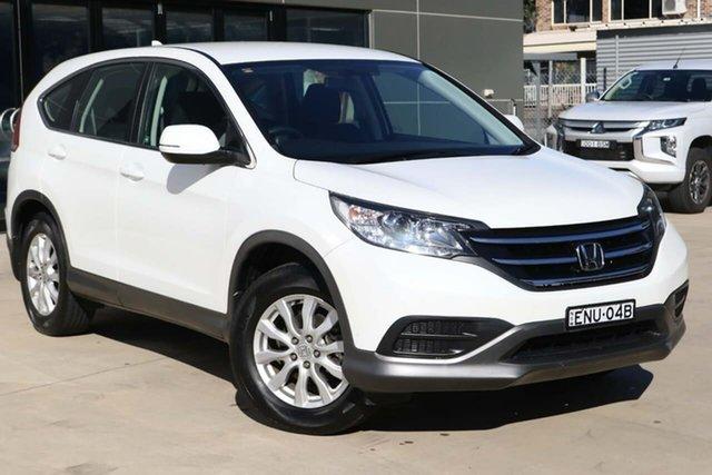 Used Honda CR-V RM VTi Tuggerah, 2013 Honda CR-V RM VTi White 5 Speed Automatic Wagon