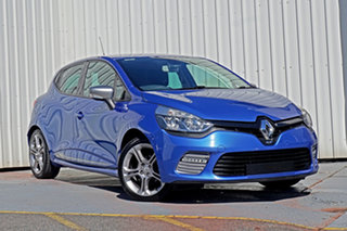 2016 Renault Clio IV B98 GT EDC Blue 6 Speed Sports Automatic Dual Clutch Hatchback.