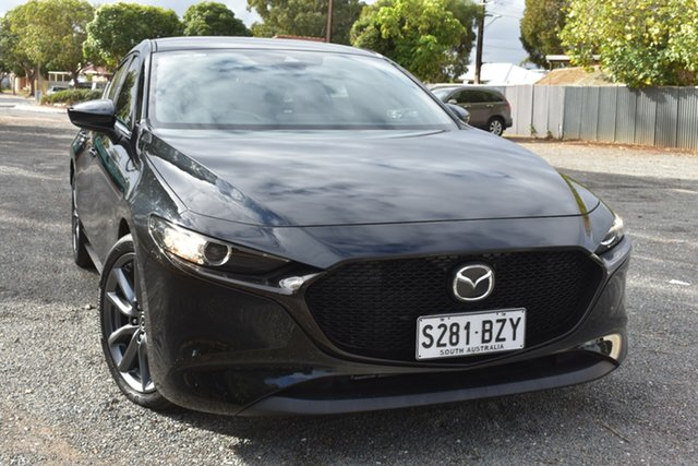 Used Mazda 3 BP2H7A G20 SKYACTIV-Drive Evolve St Marys, 2019 Mazda 3 BP2H7A G20 SKYACTIV-Drive Evolve Black 6 Speed Sports Automatic Hatchback