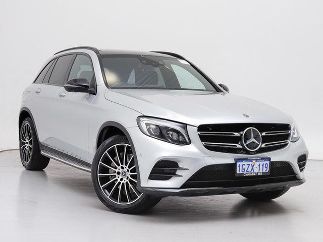 Used Mercedes-Benz GLC250 253 MY19 , 2019 Mercedes-Benz GLC250 253 MY19 Silver 9 Speed Automatic G-Tronic Wagon