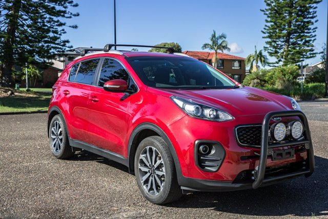 Used Kia Sportage QL MY19 AO Edition 2WD Port Macquarie, 2018 Kia Sportage QL MY19 AO Edition 2WD Red 6 Speed Sports Automatic Wagon