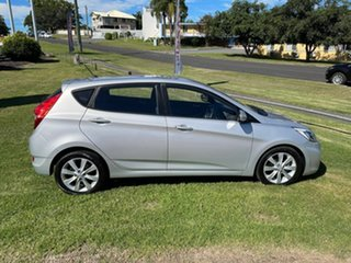 2017 Hyundai Accent RB5 MY17 Sport Silver 6 Speed Sports Automatic Hatchback