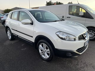 2013 Nissan Dualis J10W Series 3 MY12 ST Hatch X-tronic 2WD Snow Storm 6 Speed Constant Variable.