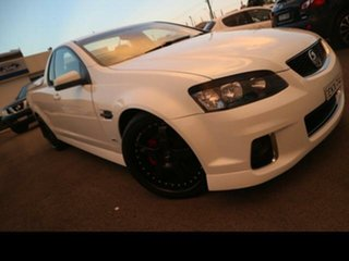 2012 Holden Commodore VE II MY12.5 SV6 Z-Series White 6 Speed Automatic Utility.