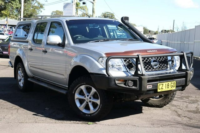 Used Nissan Navara D40 S6 MY12 ST North Gosford, 2012 Nissan Navara D40 S6 MY12 ST Silver 6 Speed Manual Utility