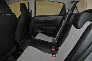 2012 Toyota Yaris NCP130R YR Silver 5 Speed Manual Hatchback
