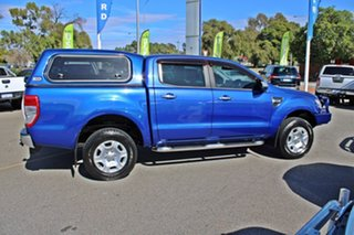 2012 Ford Ranger PX XLT Double Cab 4x2 Hi-Rider Blue 6 Speed Manual Utility
