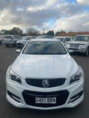 2014 Holden Commodore VF MY14 SV6 Storm White 6 Speed Sports Automatic Sedan.