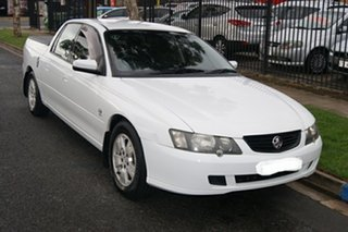 2004 Holden Crewman VY II S White 4 Speed Automatic Crew Cab Utility.