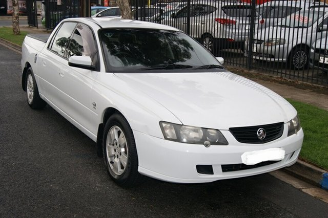 Used Holden Crewman VY II S Blair Athol, 2004 Holden Crewman VY II S White 4 Speed Automatic Crew Cab Utility