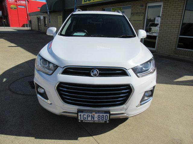 Used Holden Captiva CG LTZ Mandurah, 2016 Holden Captiva CG LTZ White 6 Speed Automatic Wagon