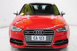 2014 Audi S3 8V MY14 S Tronic Quattro Red 6 Speed Sports Automatic Dual Clutch Sedan.