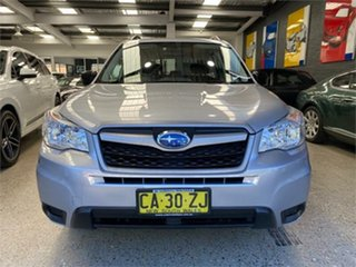 2014 Subaru Forester S4 2.5I Silver Constant Variable Wagon.