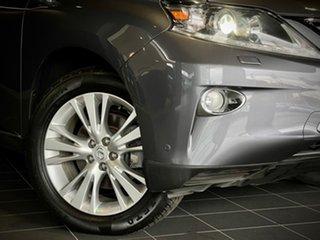 2013 Lexus RX GGL15R MY12 RX350 Luxury Grey 6 Speed Sports Automatic Wagon